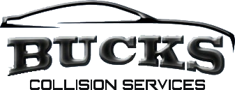 bucks collision services logo
